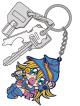 遊☆戯☆王/遊☆戯☆王デュエルモンスターズ/ブラック・マジシャン・ガールつままれキーホルダー