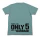 ドラゴンボール/ドラゴンボール改/戦闘力5の男Tシャツ