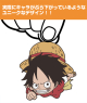 ONE PIECE/ワンピース/ルフィつままれストラップ(戦闘態勢ver.)
