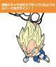 ドラゴンボール/ドラゴンボール超/ベジータ つままれキーホルダー(超サイヤ人Ver.)