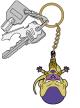 ドラゴンボール/ドラゴンボール超/ゴールデンフリーザ つままれキーホルダー