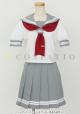 ラブライブ!/ラブライブ!サンシャイン!!/私立浦の星女学院 夏制服スカーフ 2年生(赤)