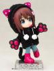 キューポッシュ/キューポッシュえくすとら/キューポッシュえくすとら あにまるパーカーセット(黒猫) フィギュア用アクセサリー