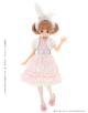 AZONE/Pureneemo Original Costume/POC392【1/6サイズドール用】PNS 白うさぎさんのファンシーワンピセット