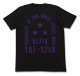 ガンダム/機動戦士ガンダム/BLACK TRI-STAR Tシャツ