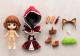 キューポッシュ/キューポッシュフレンズ/キューポッシュフレンズ 赤ずきん-Little Red Riding Hood- PVC塗装済み可動フィギュア