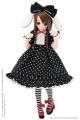 AZONE/Pureneemo Original Costume/POC432-BLK【1/6サイズドール用】PNS 時計ウサギさんセット