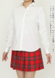 メーカーオリジナル/COSPATIOオリジナル/ベーシックシャツ(ポケットなし)/白
