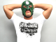 新日本プロレスリング/新日本プロレスリング/BUSHI×L・I・J「MIST」Tシャツ(ホワイト×ブラック)
