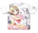 THE IDOLM@STER/アイドルマスター シンデレラガールズ/パステルピンクな恋 三村かな子 両面フルグラフィックTシャツ