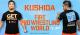 新日本プロレスリング/新日本プロレスリング/KUSHIDA×FIRE PRO WRESTLING WORLD Tシャツ