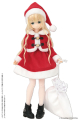 AZONE/Pureneemo Original Costume/POC465-RED【1/6サイズドール用】PNS ダッフルサンタセット