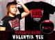 新日本プロレスリング/新日本プロレスリング/内藤哲也「VALENTIA」Tシャツ