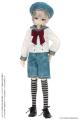 AZONE/Pureneemo Original Costume/ALB201-ASA【1/6サイズドール用】PNXS ボーダーニーソックス Aセット