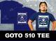 新日本プロレスリング/新日本プロレスリング/後藤洋央紀「510」Tシャツ(ネイビー/2019)