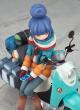 ゆるキャン△/ゆるキャン△/ゆるキャン△ 志摩 リン with スクーター 1/10スケールPVC製塗装済完成品