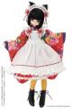 AZONE/Pureneemo Original Costume/POC476-ASA【1/6サイズドール用】PNS シースルーオーバーニーソックス Aセット