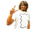 新日本プロレスリング/新日本プロレスリング/棚橋弘至「GO ACE ペイズリー」Tシャツ(オフホワイト)