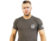 新日本プロレスリング/新日本プロレスリング/ウィル・オスプレイ「WO」Tシャツ(ワンポイントロゴ/チャコールグレー)