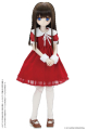 AZONE/Pureneemo Original Costume/FFC004-RED【45~50cmドール用】45 うさみみサンタセット