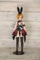 メーカーオリジナル/Little World × DollHearts/DH/OB50-09【45~50cmドール用】ポーカーバニースーツセット
