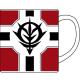 ガンダム/機動戦士ガンダム/公国軍旗 マグカップ