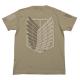 進撃の巨人/進撃の巨人/調査兵団Tシャツ