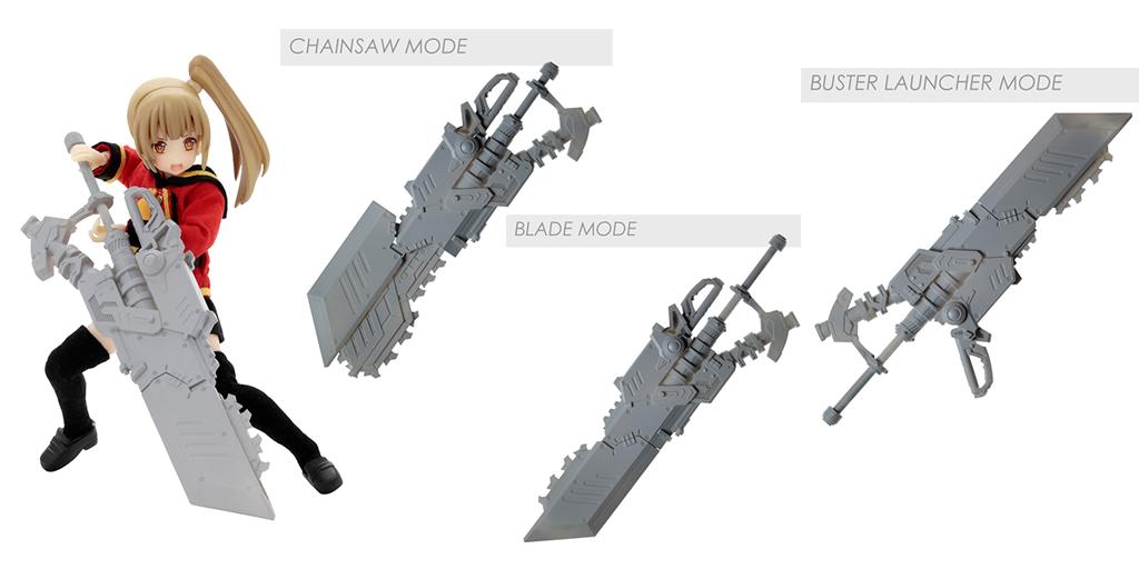 『アサルトリリィ アームズコレクション』新型となるチェーンソー型CHARM「クルッジ」が新登場!