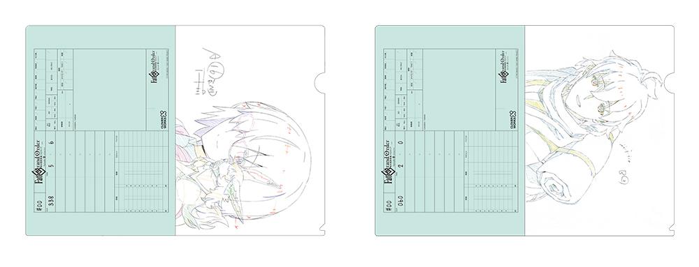[予約開始]『Fate/Grand Order -絶対魔獣戦線バビロニア-』マシュ・キリエライト、ロマニ・アーキマンの原画を使用したA4クリアファイルがそれぞれ登場![株式会社CloverWorks]