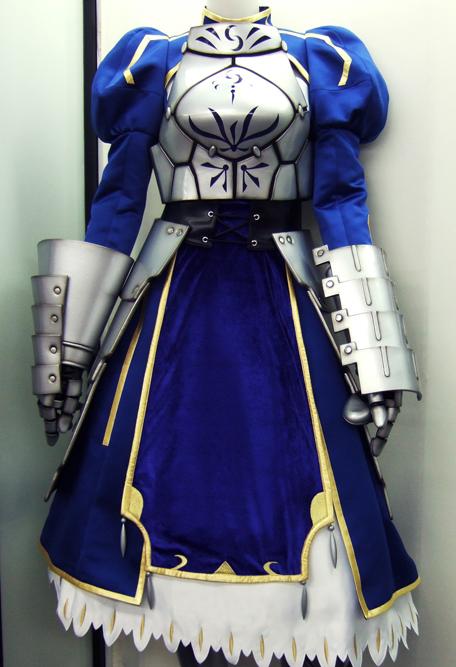 【コスパティオ秋葉原本店】『Fate/stay night [UBW]』-公式-セイバードレス&甲冑、期間限定で展示します!