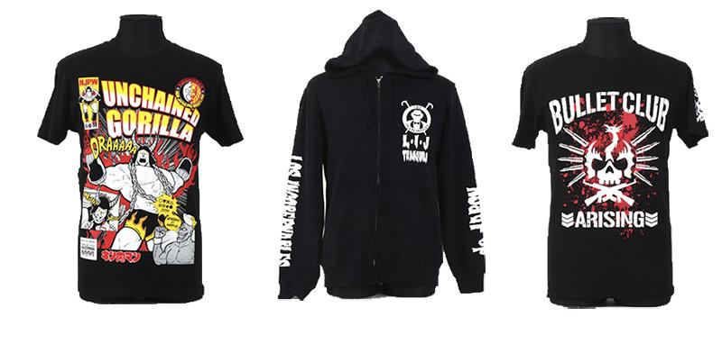 [予約開始]『新日本プロレスリング』キン肉マンコラボ SP Edition 真壁刀義×バッファローマンTシャツ、BULLET CLUB ARISING Tシャツ、L・I・J パーカーが登場!