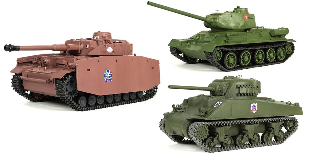 [予約開始]『ガールズ&パンツァー 劇場版』登場した戦車を1/24スケールで忠実に再現!