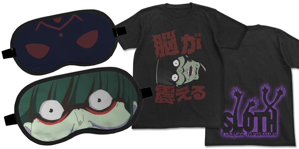 [予約開始]『Re:ゼロから始める異世界生活』ペテルギウスのTシャツ、アイマスクが登場!脳が震える!