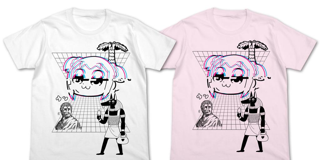 [予約開始]『ポプテピピック』限定のポプテピピックSUITSUCKオックスフォードシャツ、KUSOWAVE Tシャツが登場!