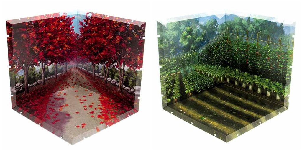 """[予約開始]『じおらまんしょん150』「紅葉並木」と「畑」が登場!繋げて・積んで・ディスプレイを楽しめる""""組立て式背景パネル""""![ピーエルエム]"""