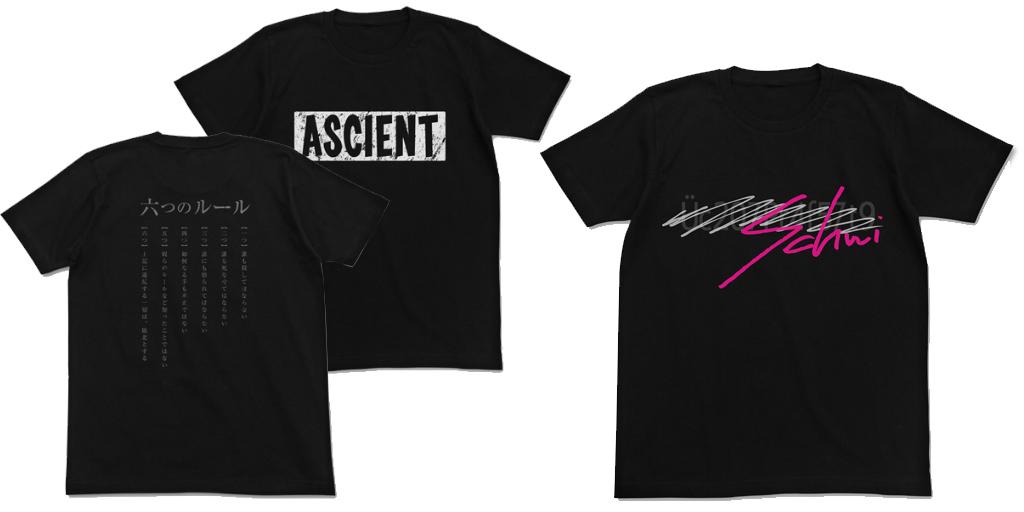 [予約開始]『ノーゲーム・ノーライフ ゼロ』 シュヴィの想いがつまったTシャツ、リクが掲げた六つのルールのTシャツが登場![二次元コスパ]