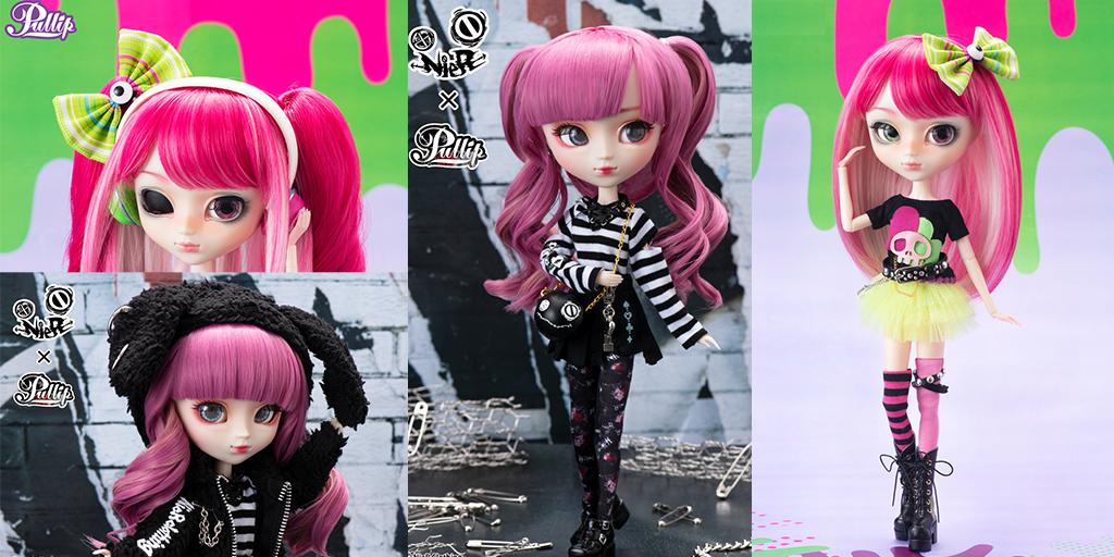 [予約開始]『プーリップ(Pullip)』クリエイター「Sheryl Designs」とコラボした毒のあるポップな色合いの「Akemi - Acid Candy」、ファッションブランド「NieR Clothing」とのコラボレーションドール「NieRちゃん」が登場です![グルーヴ]