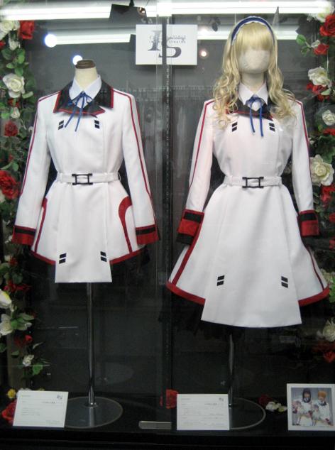【コスパティオ ジーストア・アキバ店】「IS <インフィニット・ストラトス>」女子制服、期間限定で展示決定!