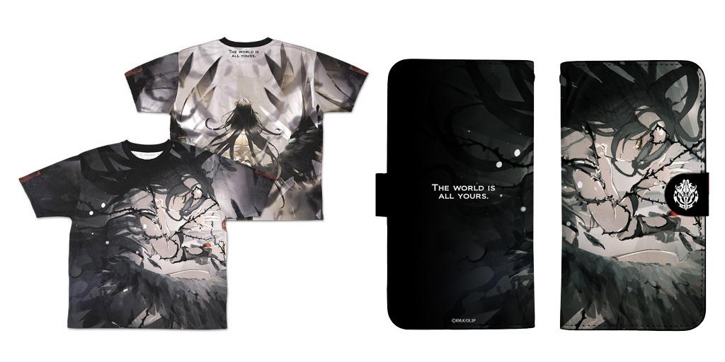 [予約開始]『オーバーロードIII』「アルベド」の手帳型スマホケースと両面フルグラフィックTシャツが登場![コスパ]