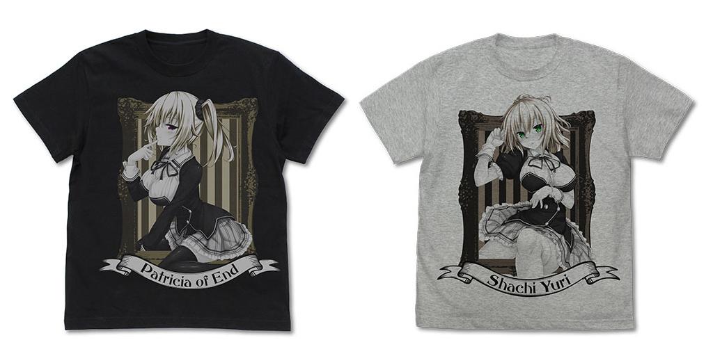 [予約開始]『ノラと皇女と野良猫ハート』「ノラ」に魔法をかけた「皇女パトリシア」のTシャツ、「ノラ」の家のことなら彼女にお任せ!「シャチ」のTシャツが登場![二次元コスパ]