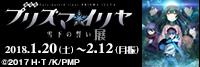 「劇場版 Fate/kaleid liner プリズマ☆イリヤ 雪下の誓い」展