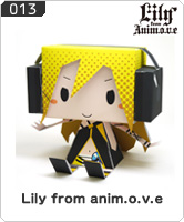 No.013 Lily from anim.o.v.e
