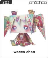 No.203 GRAPHIGオリジナル wacco chan