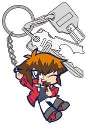 遊☆戯☆王/遊☆戯☆王デュエルモンスターズGX/遊城十代つままれキーホルダー
