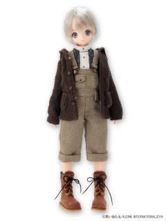 AZONE/Pureneemo Original Costume/AKT092【1/6サイズドール用】ほっこりスエードブーツ