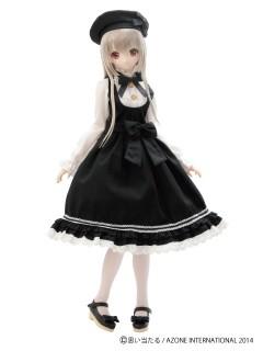 AZONE/50 Collection/FAR160【48/50cm/AZO2ドール用】ELLEN'S CLOSET ジャンパースカートset