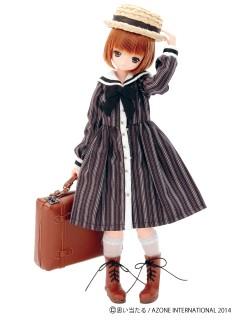 AZONE/Pureneemo Original Costume/PNM119【1/6サイズドール用】こもれび森のお洋服屋さん♪「森の木陰の思い出トランク」