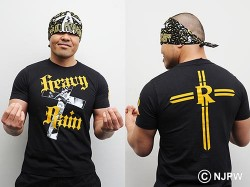 新日本プロレスリング/新日本プロレスリング/オカダ・カズチカ「HEAVY RAIN」Tシャツ