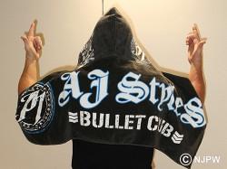 新日本プロレスリング/新日本プロレスリング/AJスタイルズ パーカータオル