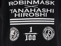新日本プロレスリング/新日本プロレスリング/キン肉マンコラボDX 棚橋弘至×ロビンマスク「GUITARIST」Tシャツ
